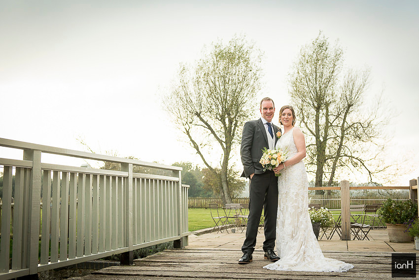 Wedding photography at Sopley Mill
