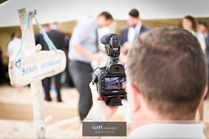 Videographer at Beach Weddings Bournemouth