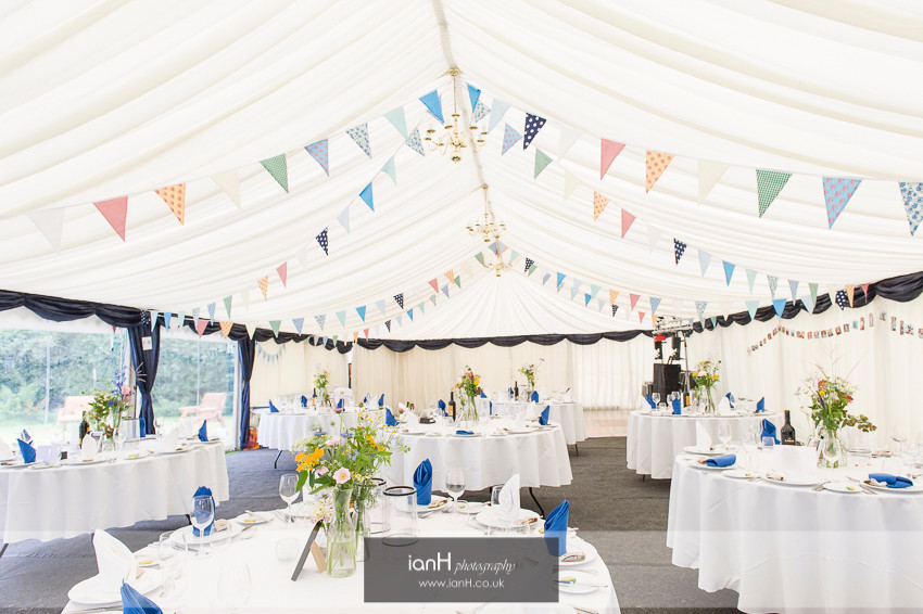 Hampshire country marquee wedding