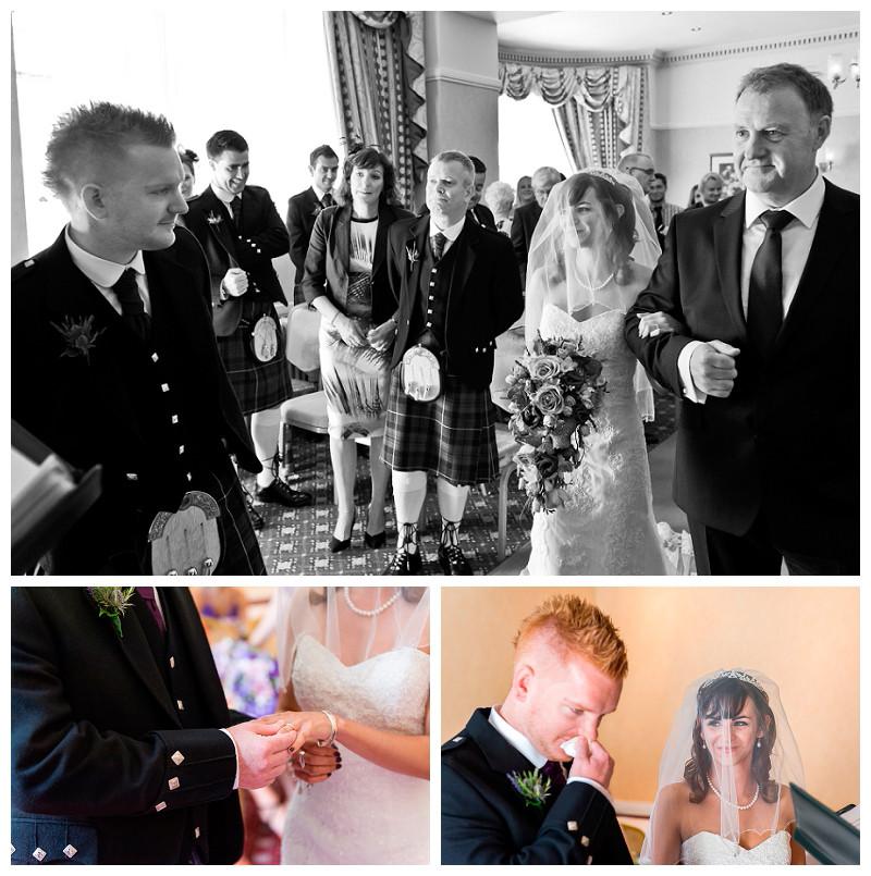 Norfolk Hotel wedding of Hannah and Gordon