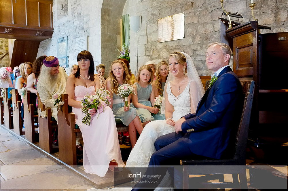 Studland Church Summer wedding-7