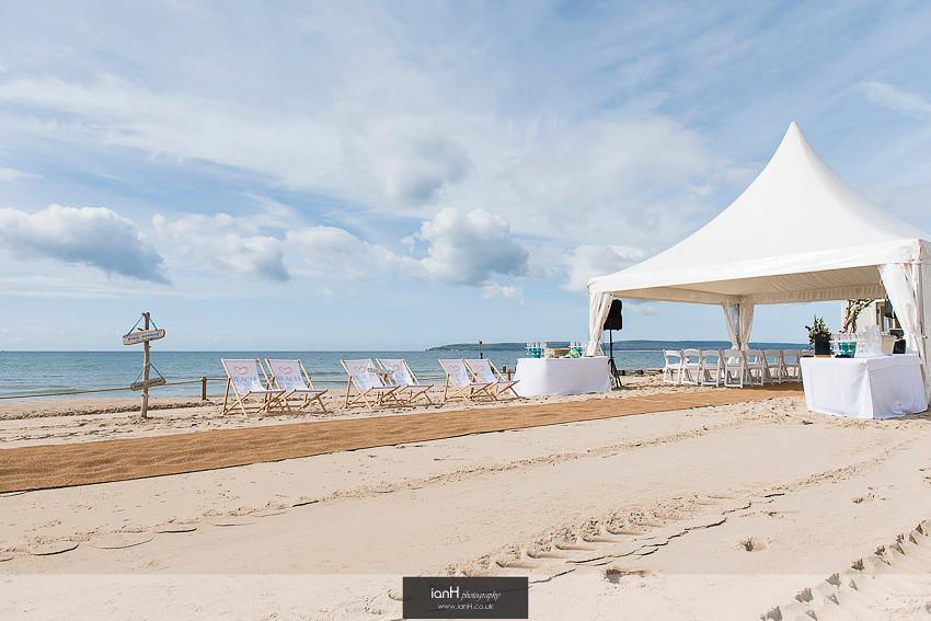 Chinese Hat at Beach Weddings Bournemouth
