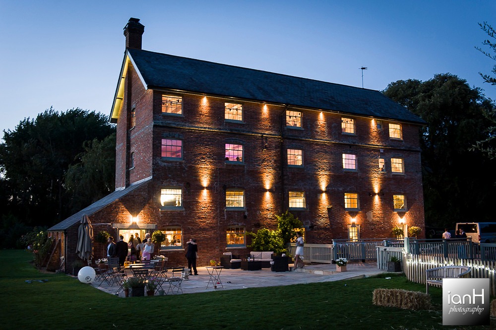 Sopley Mill - Dorset wedding venue