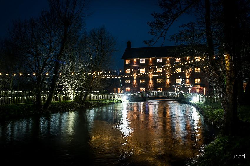 Winter wedding at Sopley Mill