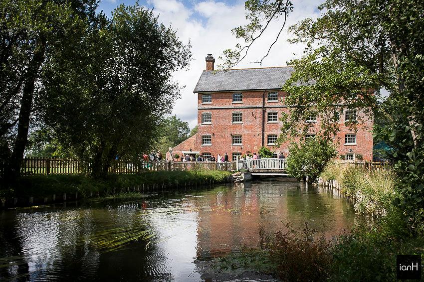 Wedding venue review - Sopley Mill