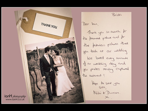 Best job in the world? Dorset and Hampshire wedding photographer
