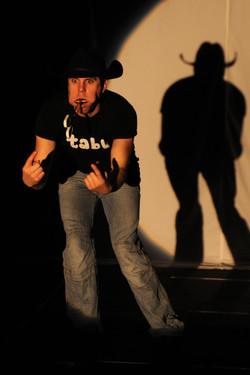 Christian Mark mit Mundharmonika