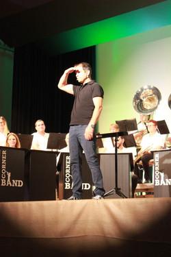 Christian Mark Moderiert Corner Band