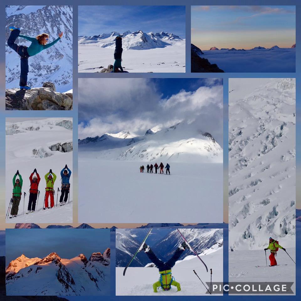 Skitouren und Yoga