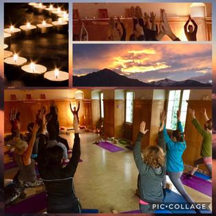 Yoga Vital, während einer Woche 6.30-7.30 Yoga