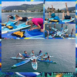SUPyoga - Yoga auf dem Stand-up-Paddle