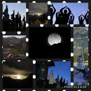 Moon&Yoga auf der Wissiflue