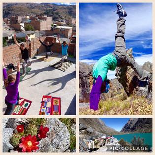 Yoga in Peru!