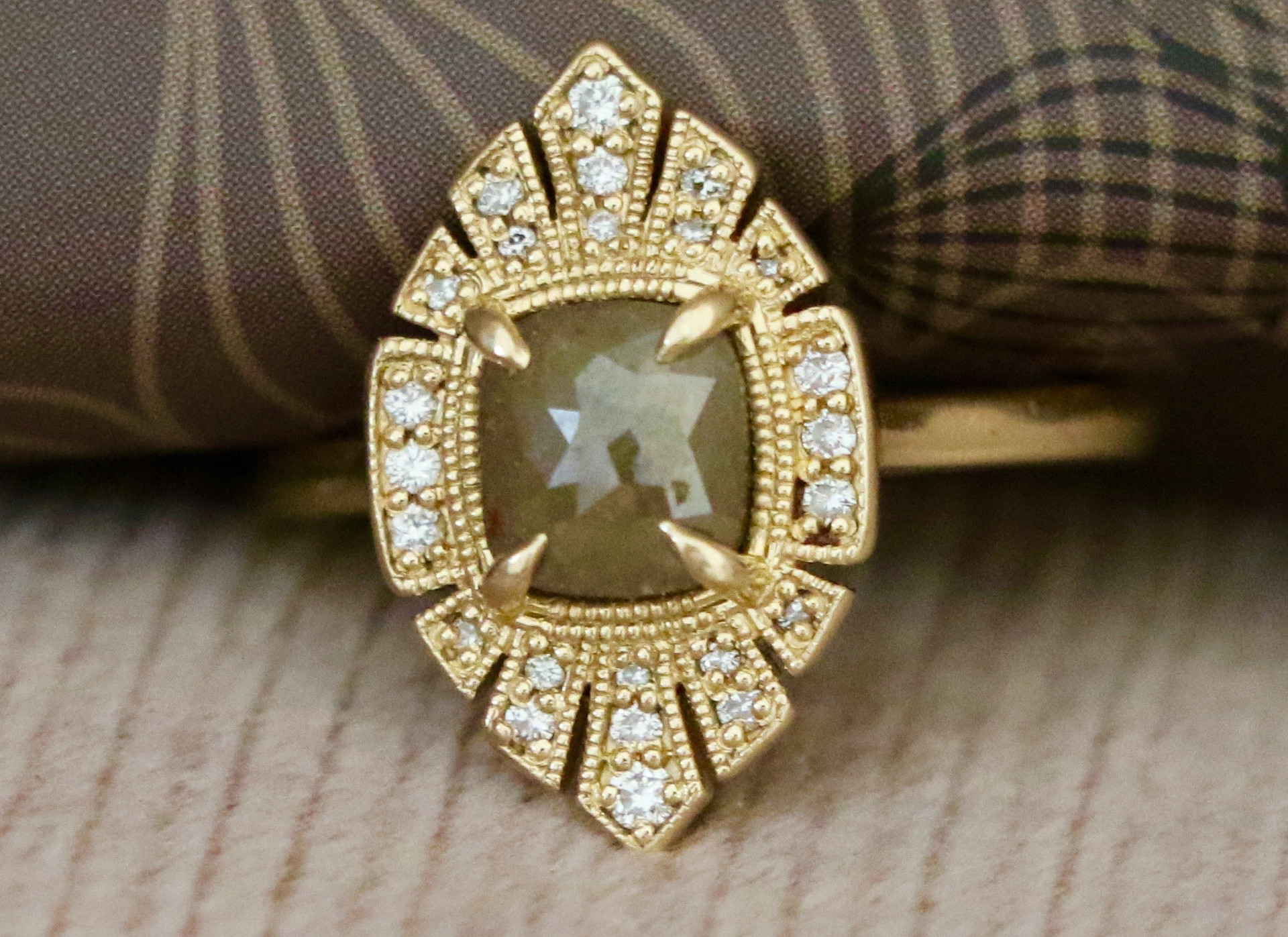 ONE-OF-A-KIND DIAMOND RING