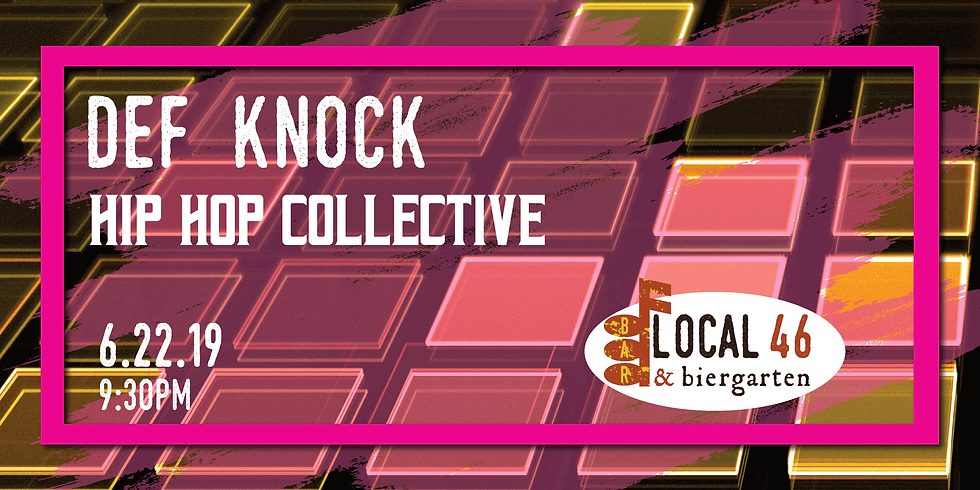 Live Music with DJ Def Knock at Local 46