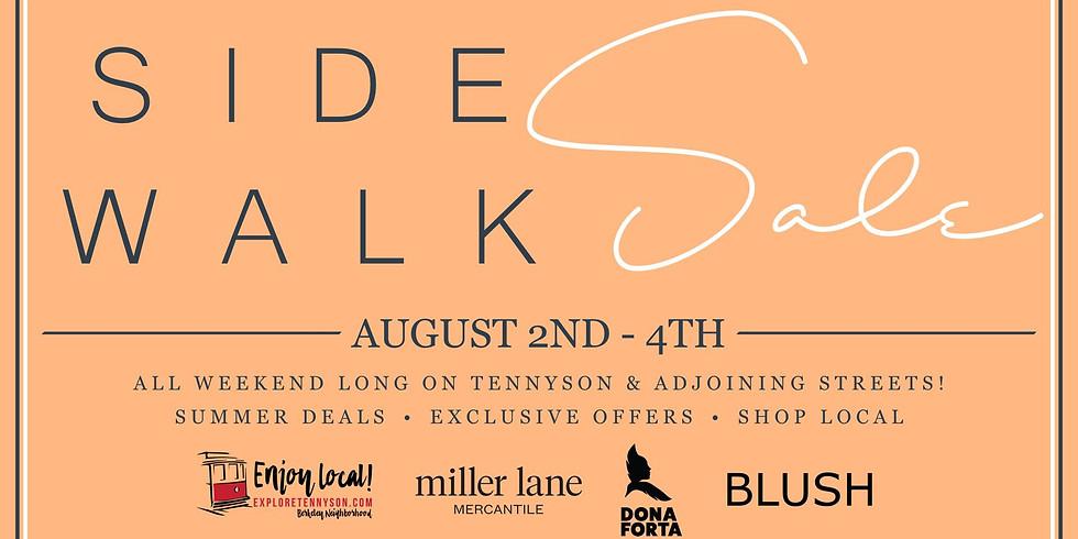 Tennyson Street Summer Sidewalk Sale!
