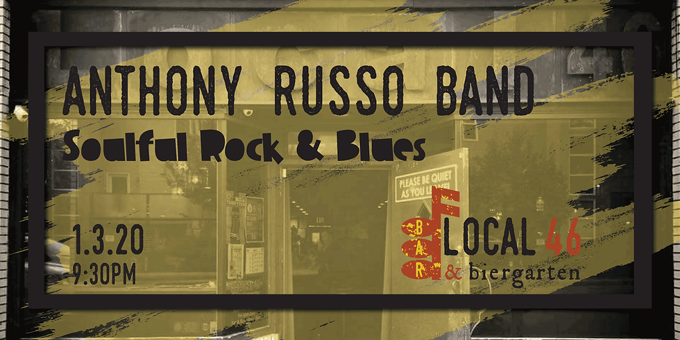 Live Music from the Anthony Russo Band at Local 46