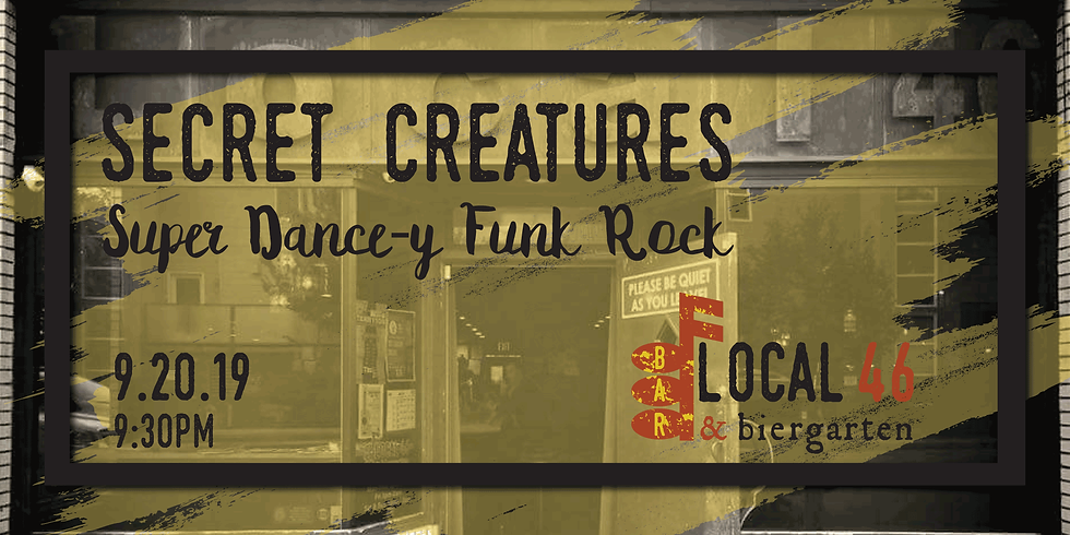 Live Music with Secret Creatures at Local 46