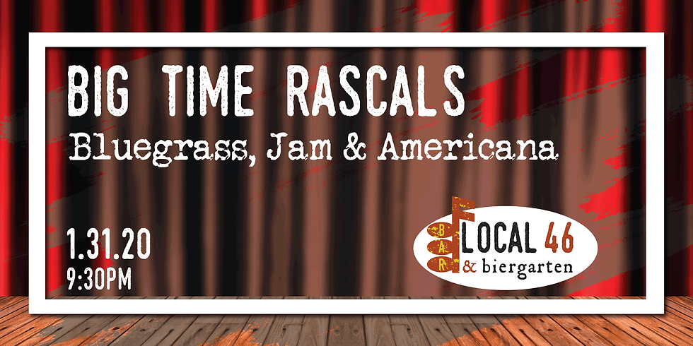 Live Music from Big Time Rascals at Local 46