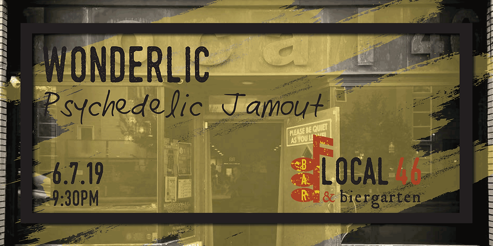 Live Music with Wonderlic at Local 46