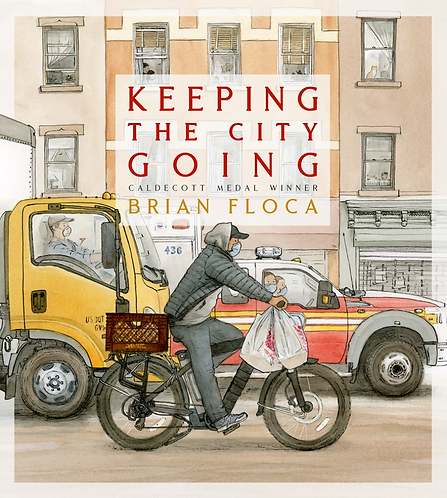 Keeping the City Going by Brian Floca (4/27)