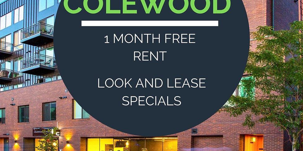 Move in specials at Colewood