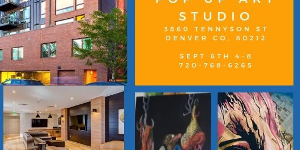 Open House/Pop up art studio
