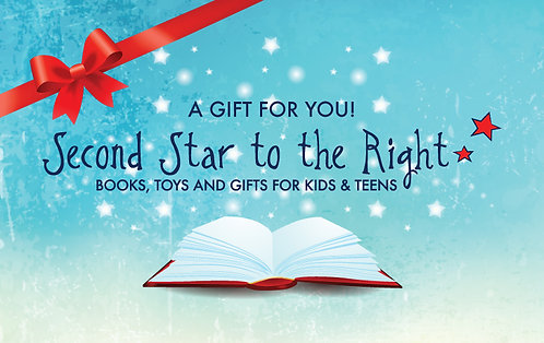 Second Star IN STORE Gift Card $25-$150