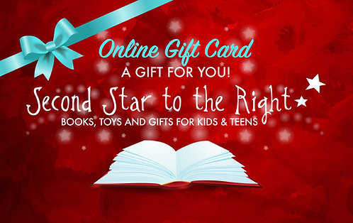 Second Star ONLINE Gift Card $25-$150