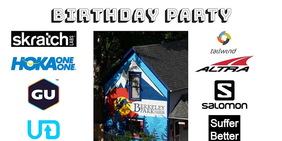 Berkeley Park Running's One Year Anniversary Palooza Birthday Party
