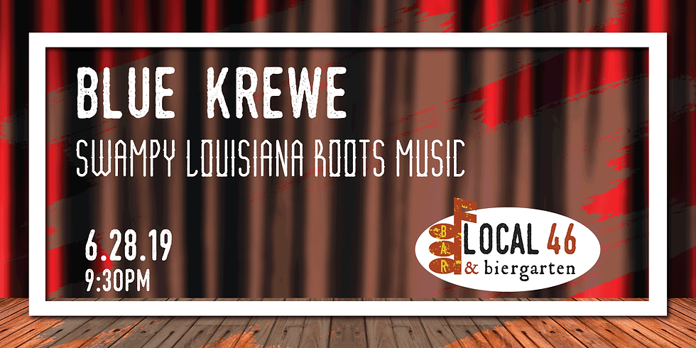 Live Music with Blue Krewe at Local 46