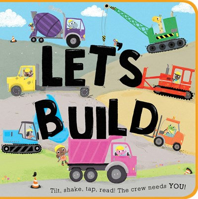 Let's Build by Houghton Mifflin Harcourt, Zoe Waring
