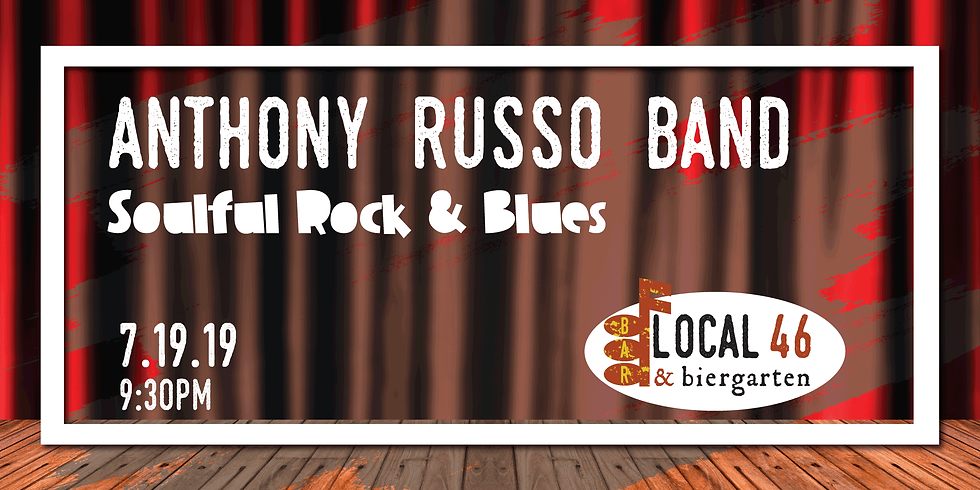 Live Music with the Anthony Russo Band at Local 46