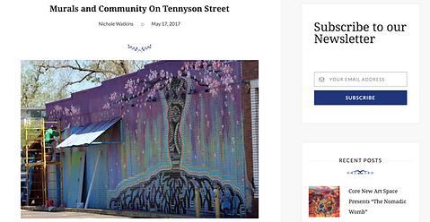 Art Beat Magazine, Local 46, Murals, Tennyson Berkeley Neighborhood
