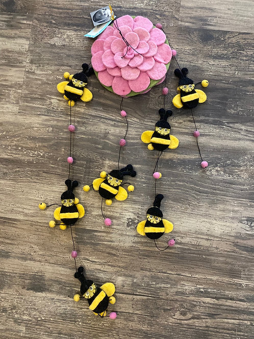 Bee Mobile- Pink