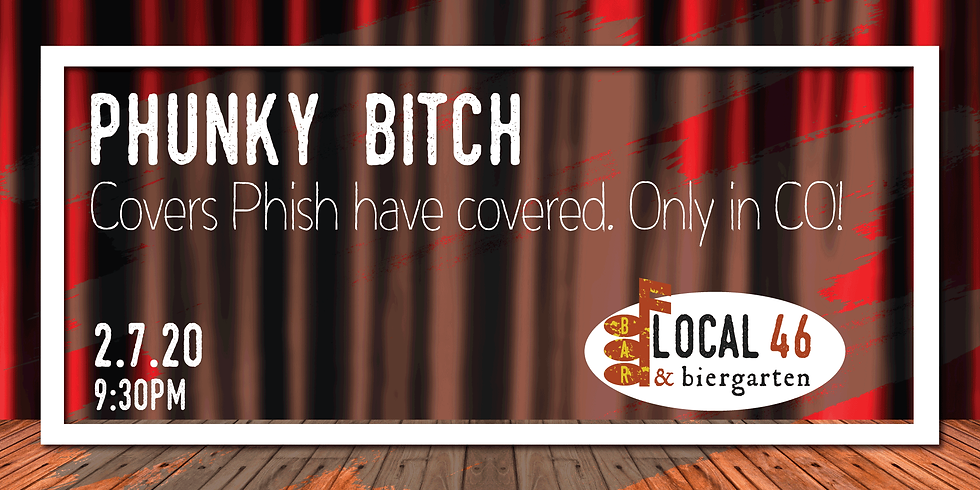 Live Music from Phunky Bitch at Local 46