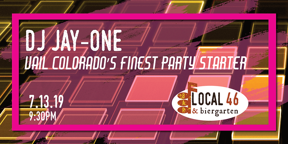 Live Music with DJ Jay-One at Local 46