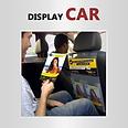 Display car panfletagem em táxis sistema multi canal