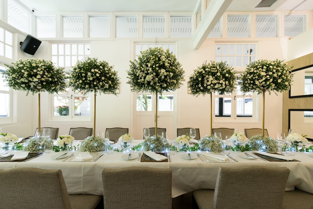 Singapore Wedding Venue: Lewin Terrace Private room with wedding setting