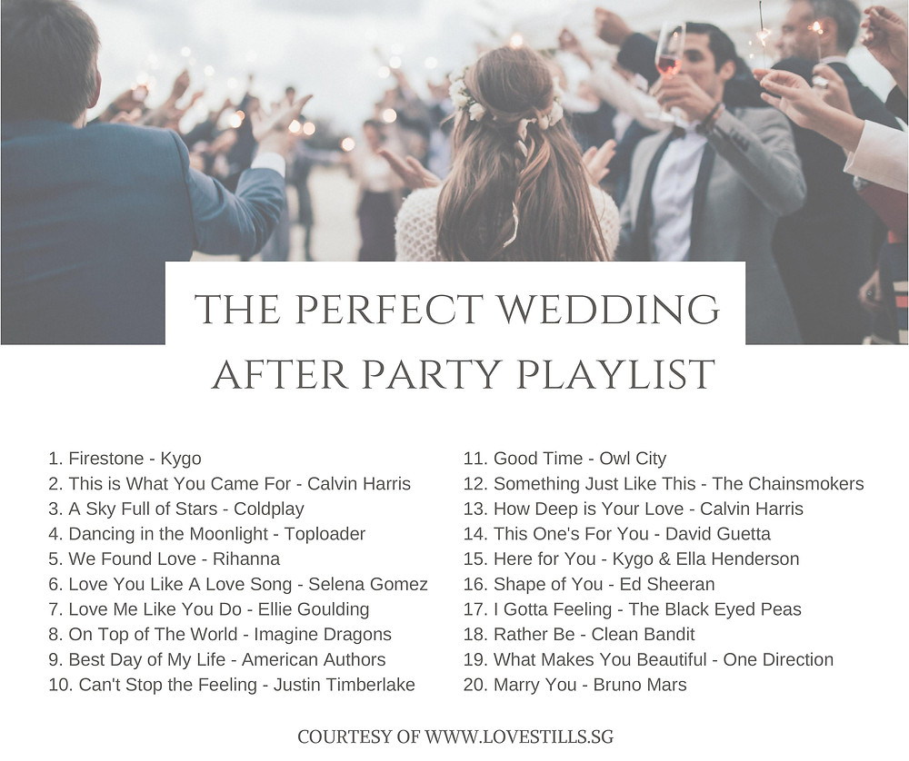 Lovestills - Wedding Playlists That Will Get Your Guests in the Mood for Love