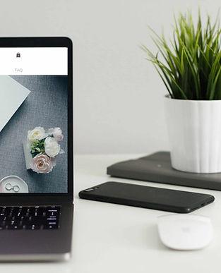 Lovestills Website on Laptop