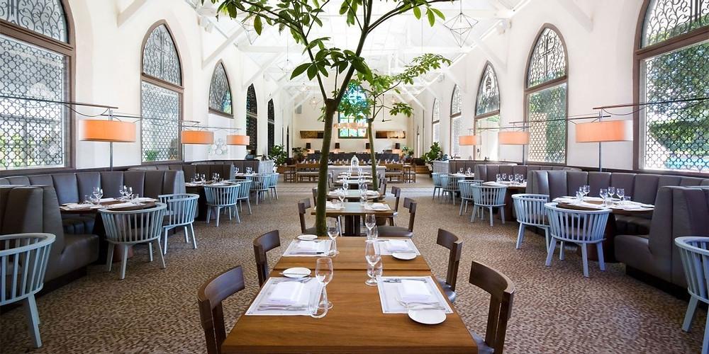 Singapore Wedding Venue: White Rabbit Cathedral like Interior