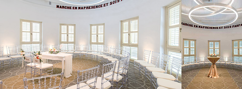 Singapore Wedding Venue: Alcove Caldwell Circular Room with Chairs