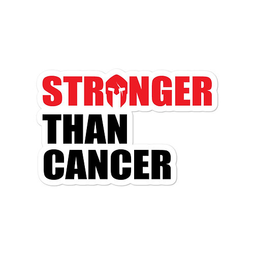Stronger Than Cancer stickers