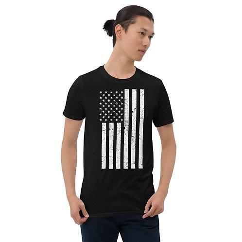 Stronger Nation American Flag Unisex T-Shirt