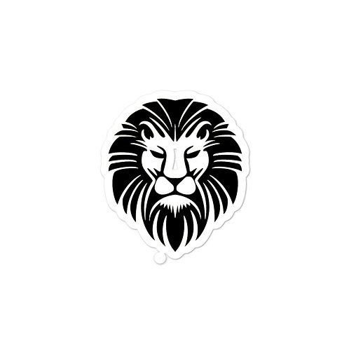 Alpha Lion Head stickers