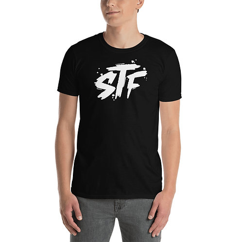 Graffiti White Letter Style STF T-Shirt