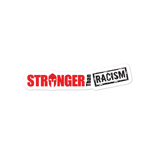 Stronger Than Racism stickers