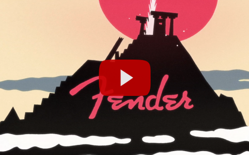Já viu o motion da Fender?