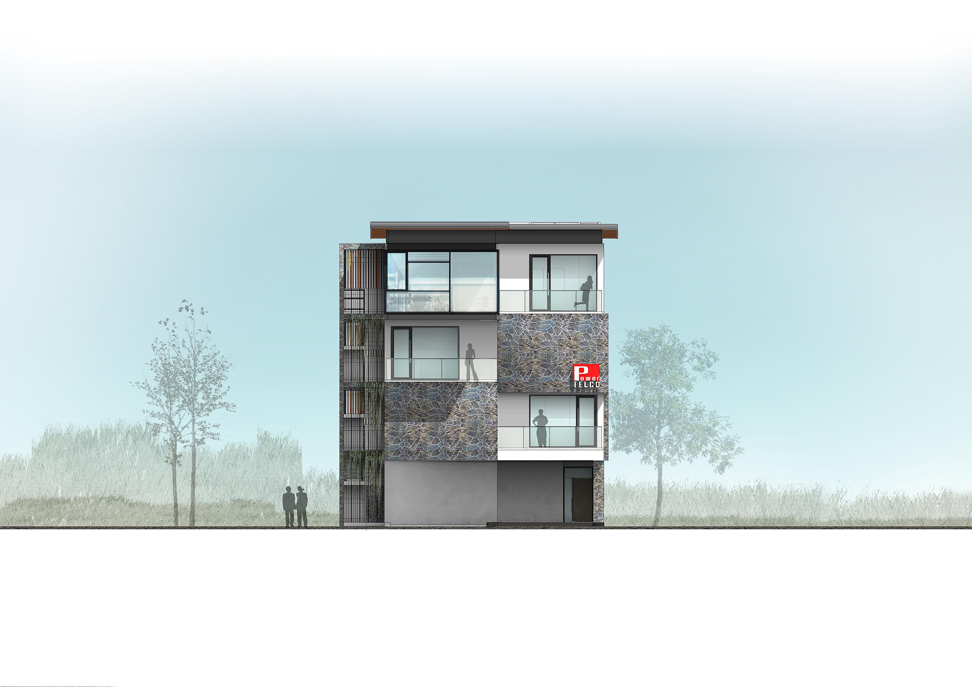 Office-elevation 1